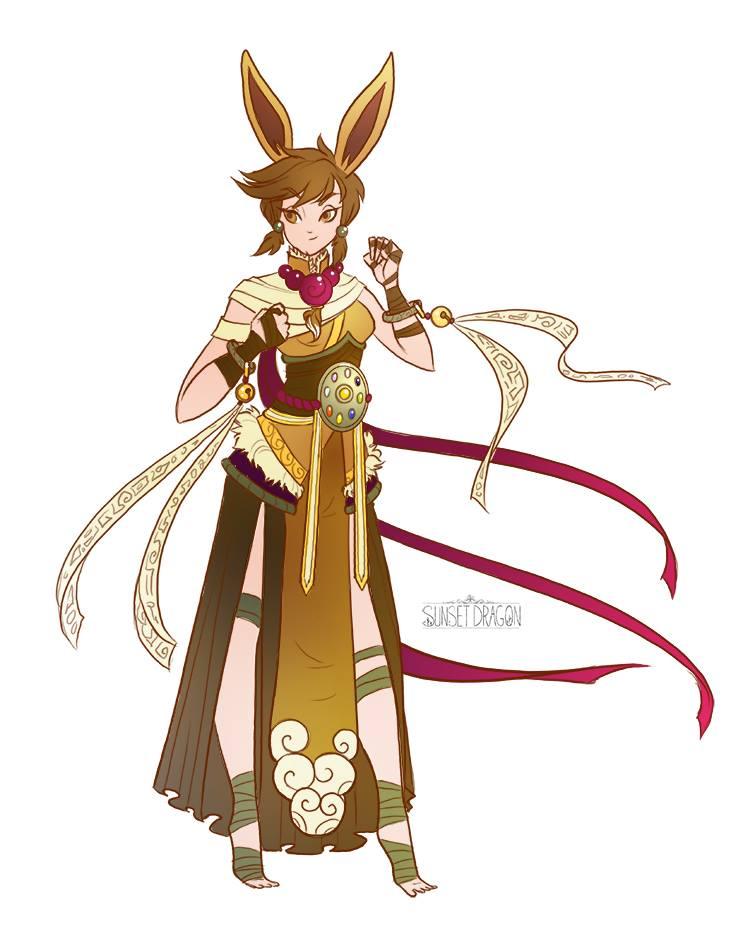 eeveelutions-dnd-pokemon-eevee monk
