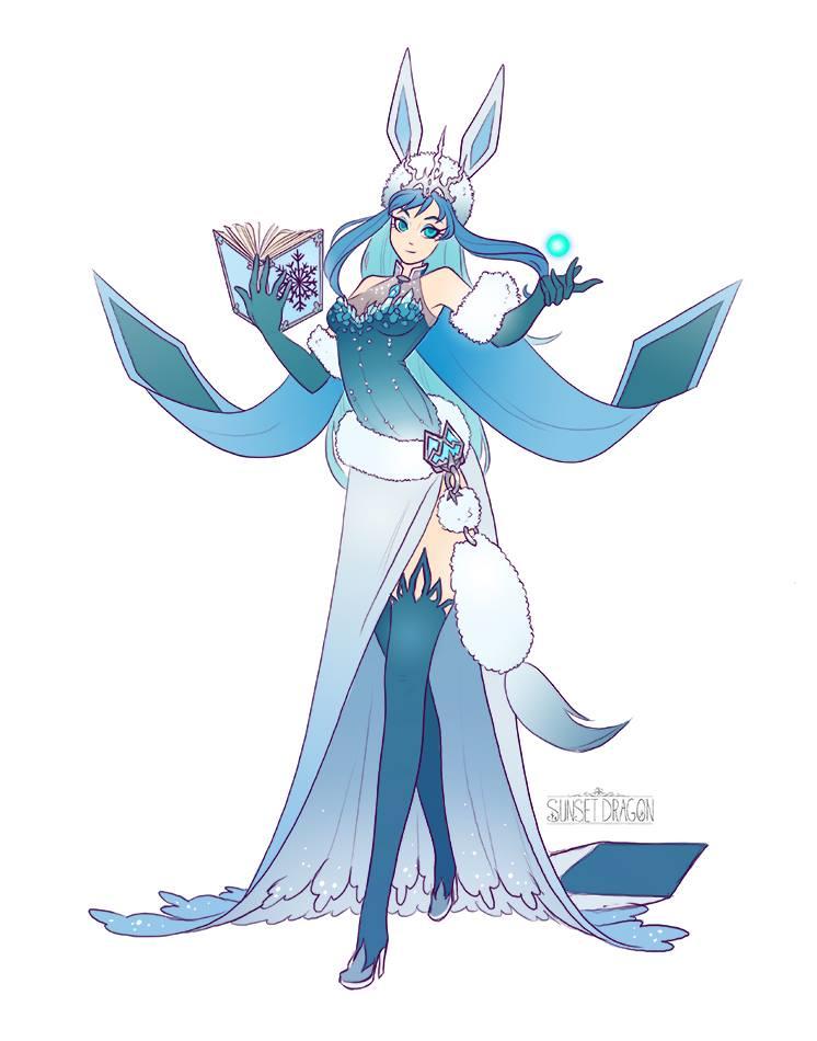 eeveelutions-dnd-pokemon-glaceon wizard