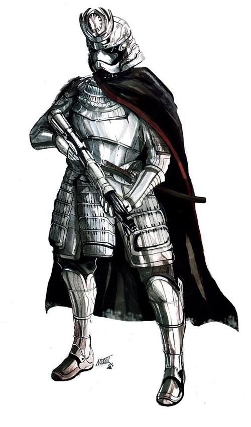 feudal-samurai-star-wars-samurai taichou phasma
