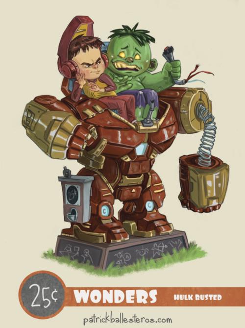 25 cents wonders hulk buster iron man