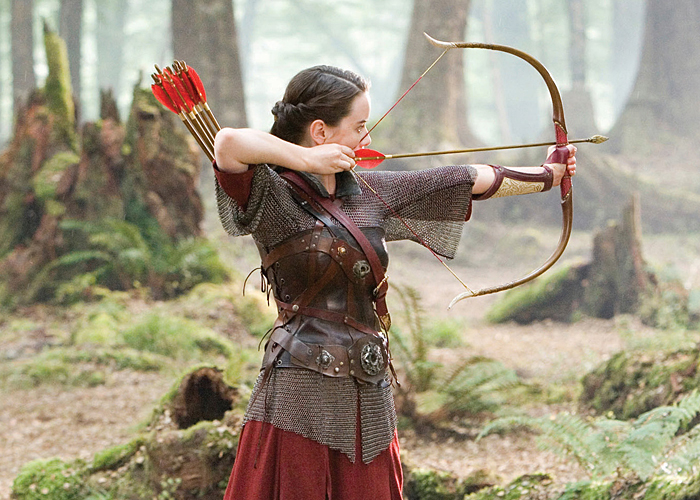 Anna Popplewell as Susan Pevensie from the Narnia series
