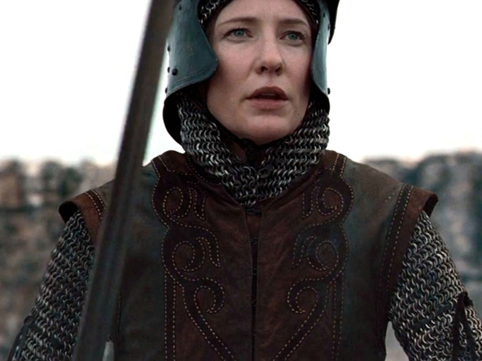 Cate Blanchett as Marion Loxley from Robin Hood