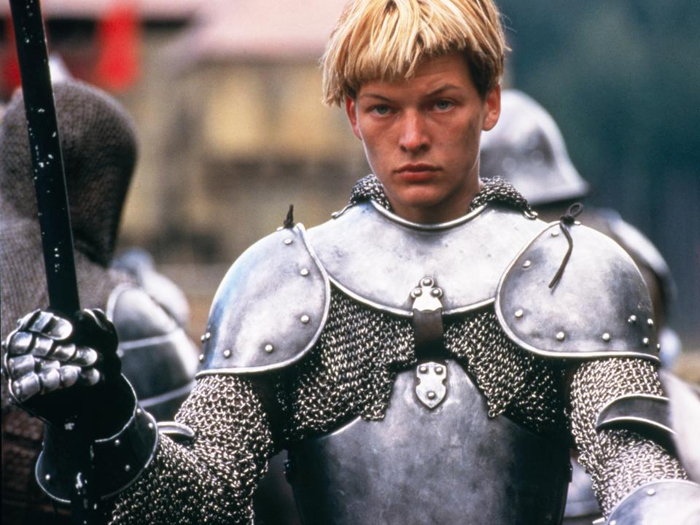 Milla Jovovich as Joan of Arc from The Messenger: The Story of Joan of Arc