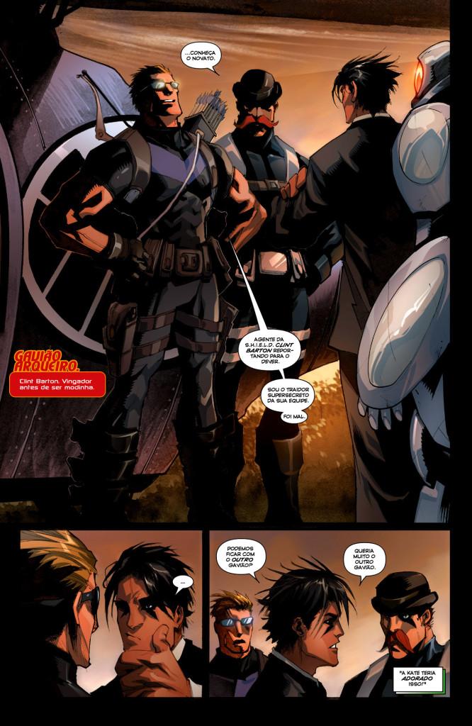 New Avengers 001-008