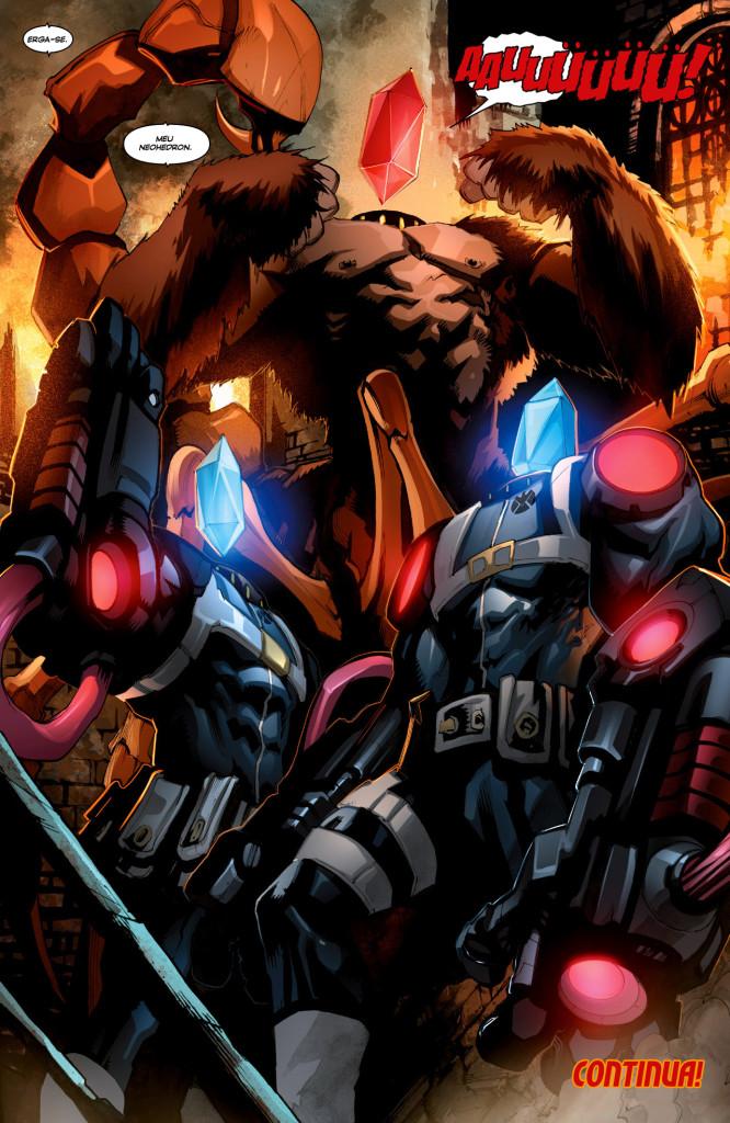 New Avengers 001-017