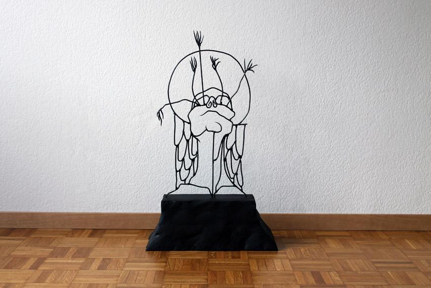 angelreborn Gavin Worth wire sculpture