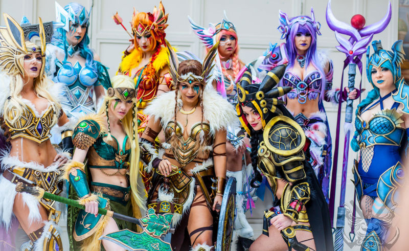 eevee evolutions cosplayers2