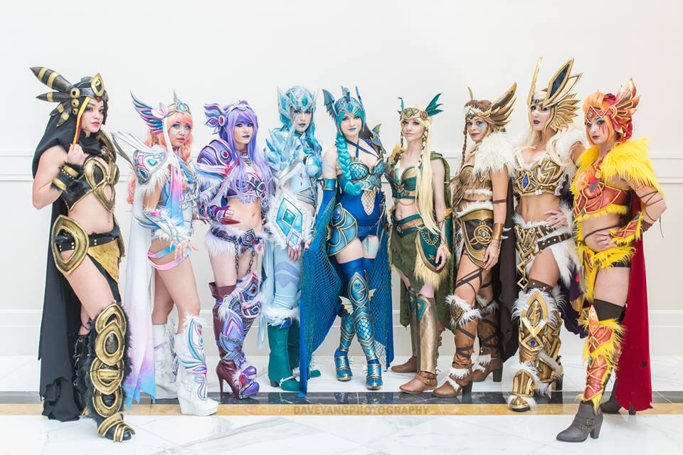 eevee evolutions cosplayers4