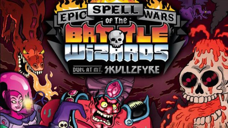epic spell wars of the battle wizards dual at mt Skullzfyre