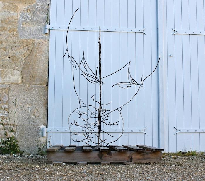 thirst2 Gavin Worth wire sculpture