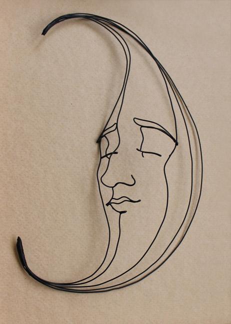 tiffanysmoon Gavin Worth wire sculpture