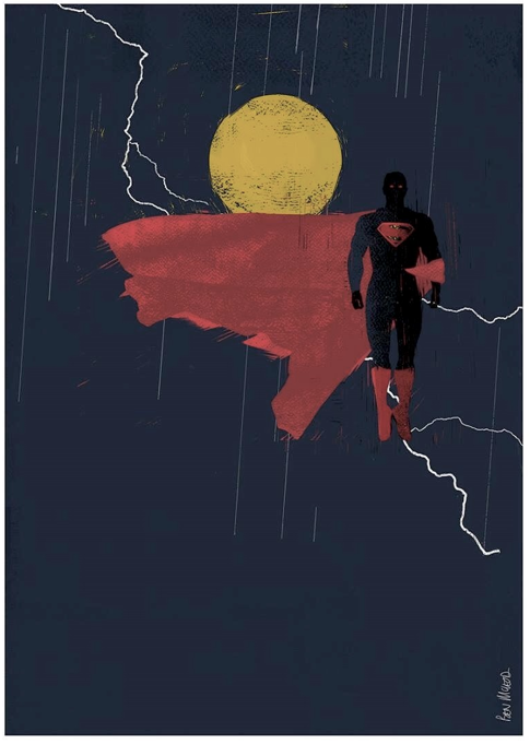 Batman v Superman by Ben McLoad