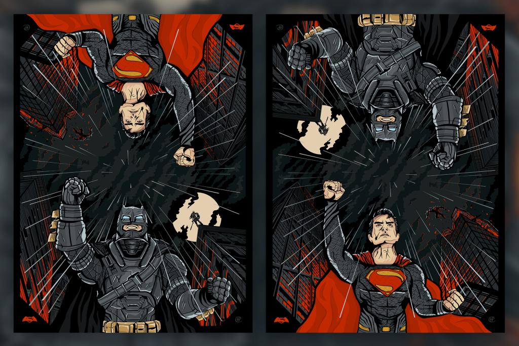 Batman v Superman by Harlam Elan