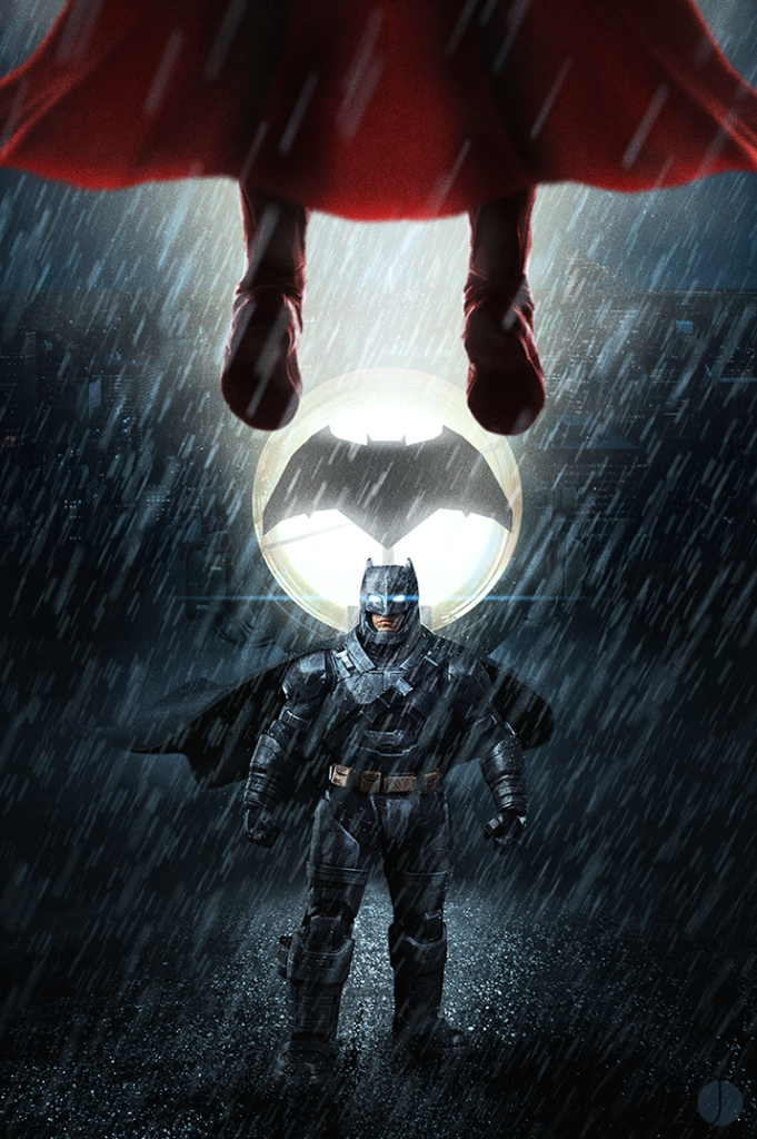 Batman v Superman by John Aslarona