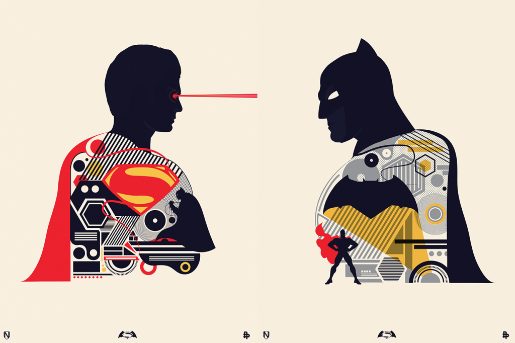 Batman v Superman by Matt Needlee