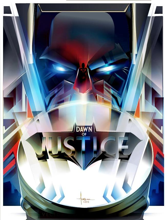 Batman v Superman by Orlando Aroena