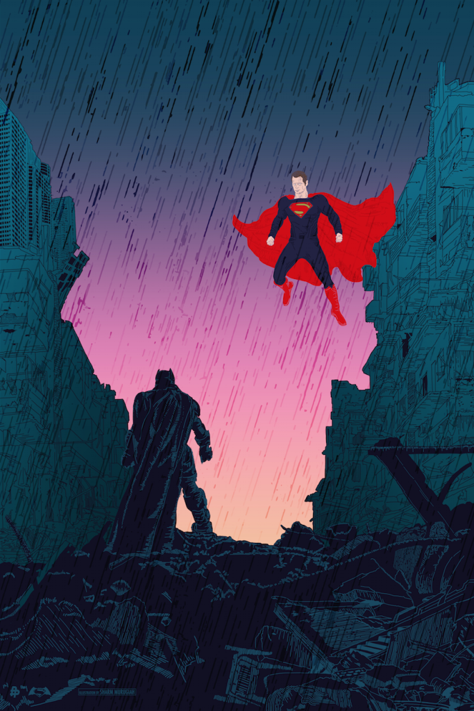 Batman v Superman by Sharm Murugiah