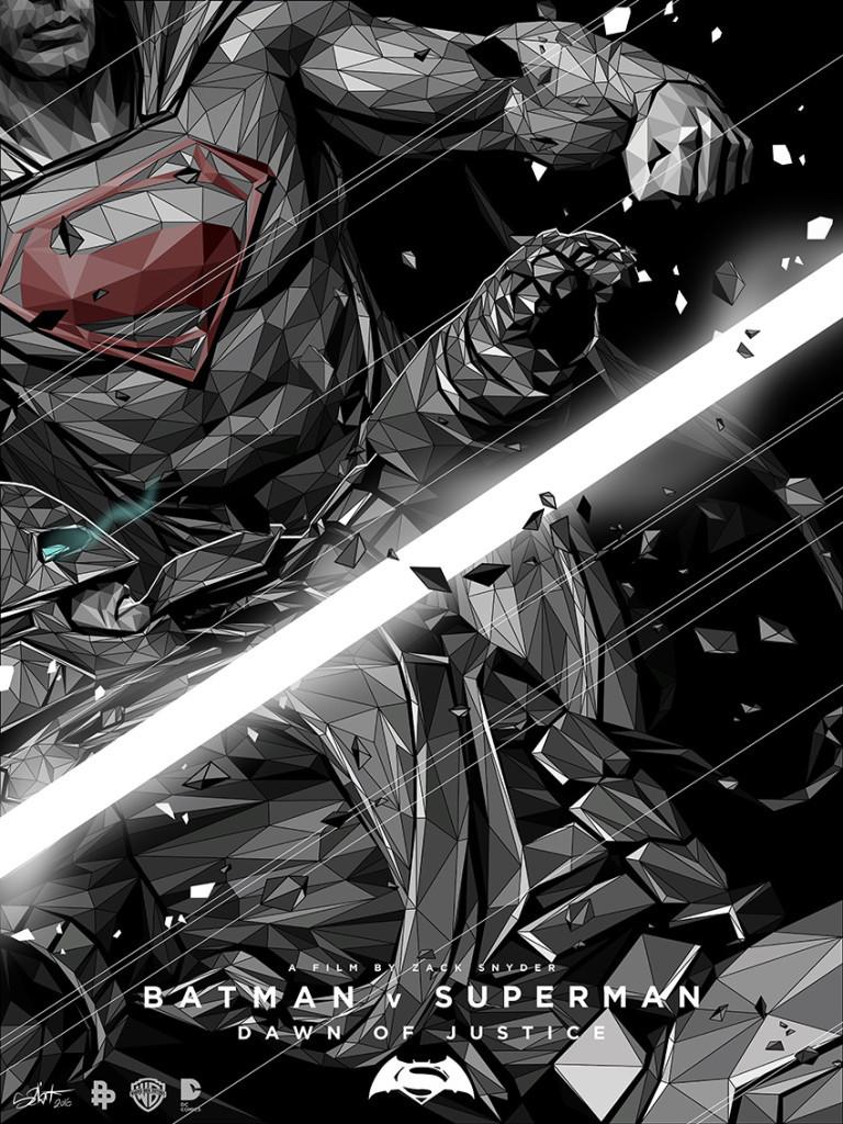 Batman v Superman by Simon Delart