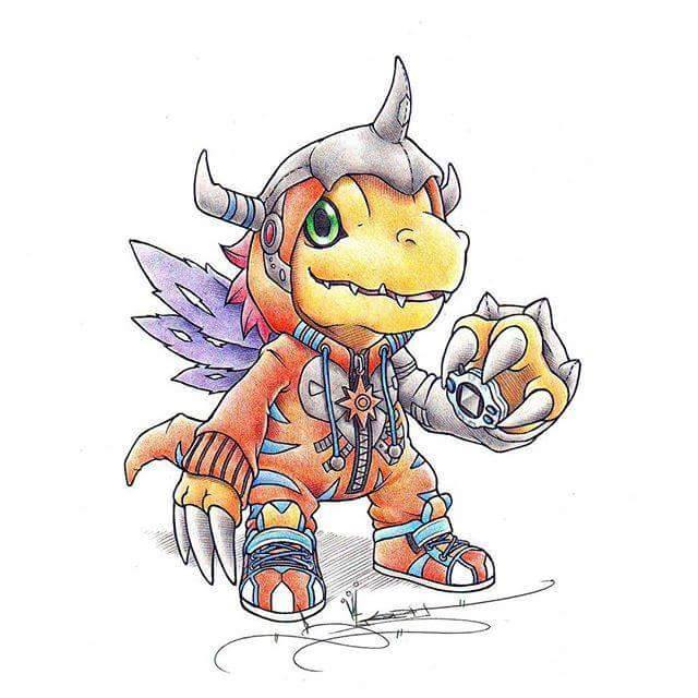 digimon onesies war graymon