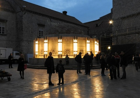 The last preparations are put in place to begin filming of the new Star Wars movie in Dubrovnik, Croatia Featuring: Atmosphere Where: Dubrovnik, Croatia When: 09 Mar 2016 Credit: WENN.com **Only available for publication in UK, USA, Germany, Austria, Switzerland**