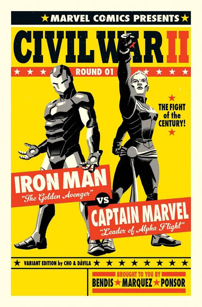 Civil_War_II_1_Cho_Variant iron man capitã marvel