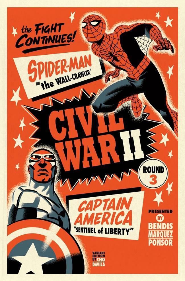 Civil_War_II_3_Cho_Variant homem aranha capitão américa