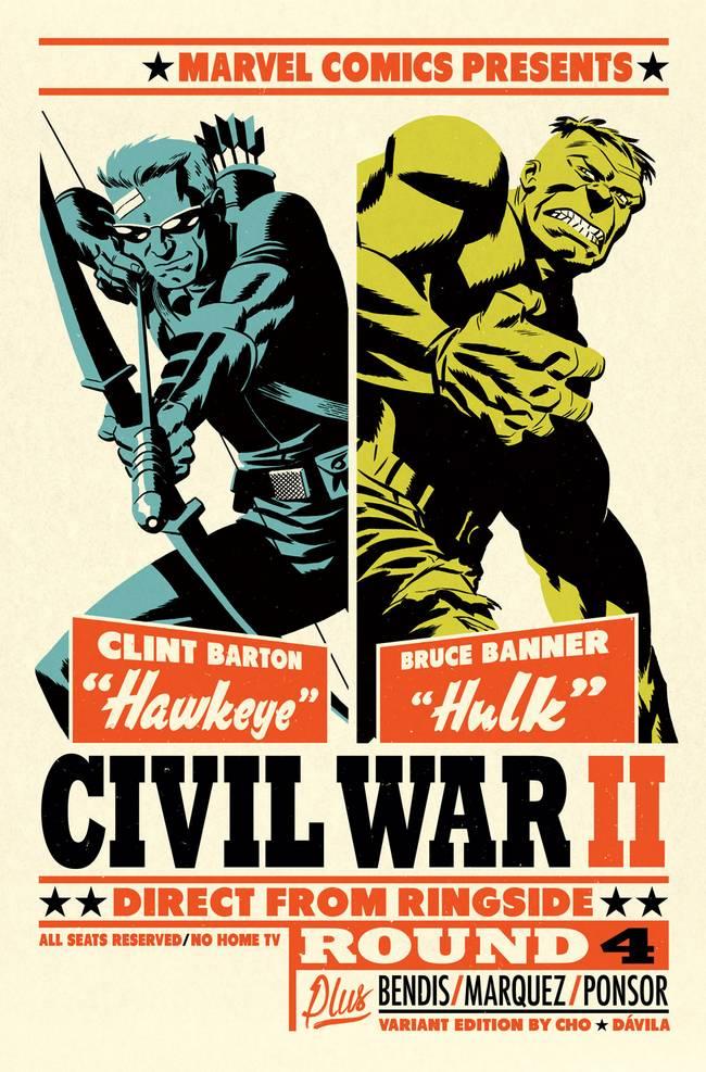 Civil_War_II_4_Cho_Variant gavião arqueiro hulk