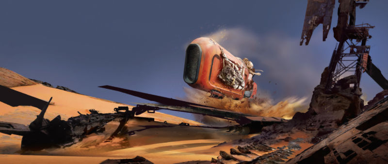 Speeder Whip by Stephan Martiniere