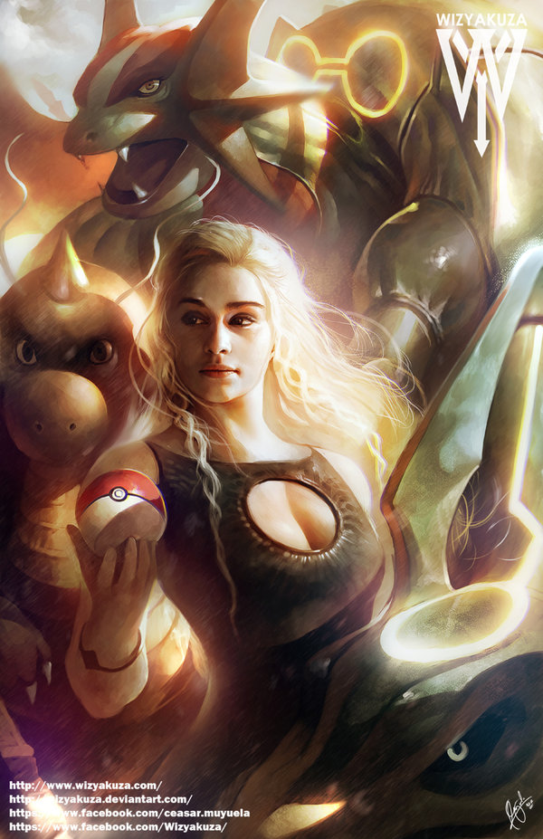 awesome-game-of-thrones-and-pokemon-mashup-art-mother-of-dragons