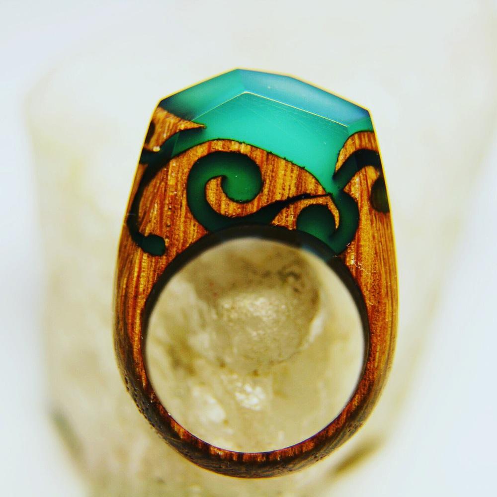 miniature-scenes-rings-secret-forest-tribal