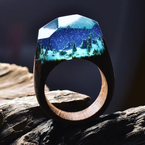 miniature-scenes-rings-secret-forest