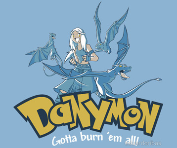 pokemon game of thrones mashup denerys targarien
