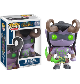 world of warcraft funko pop illidan