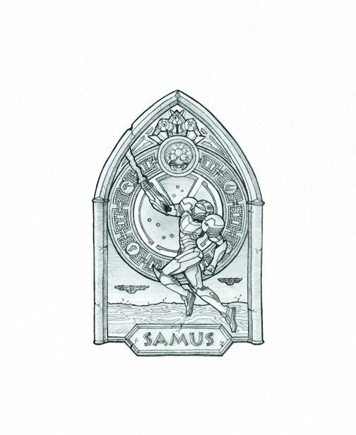 Mikey-Mann-The-Trinity-Samus-the-Daring