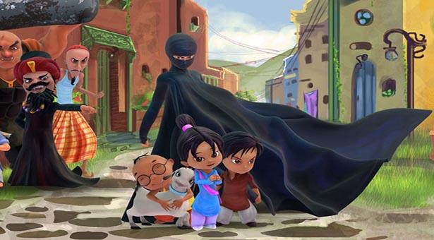 burka avenger super heroina paquistanesa arabe mussulmana