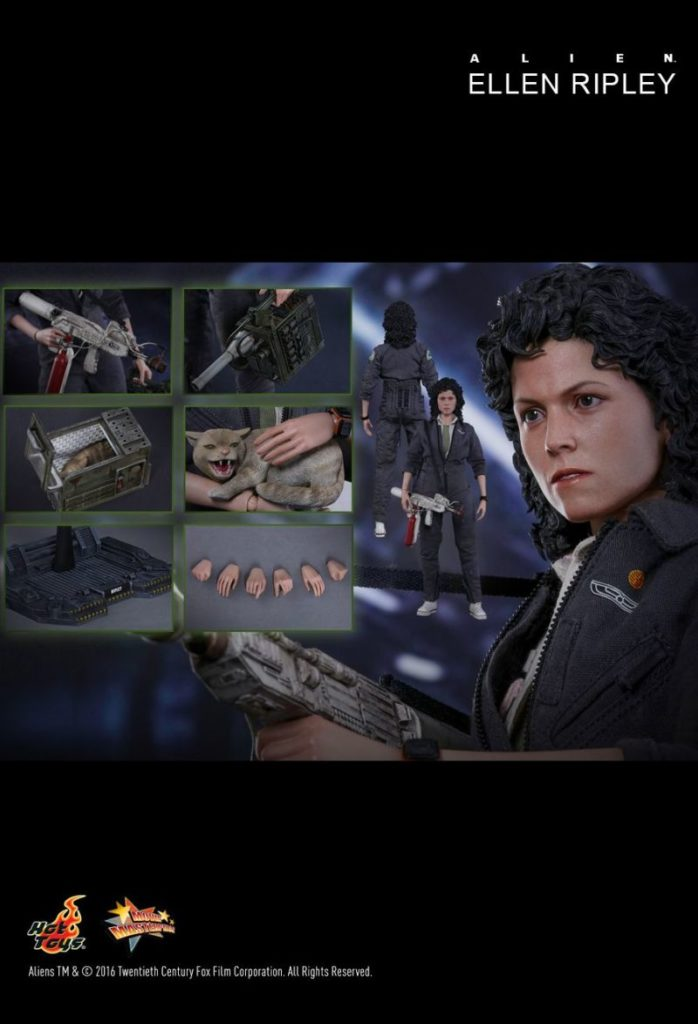 ellen ripley alien action figure 8