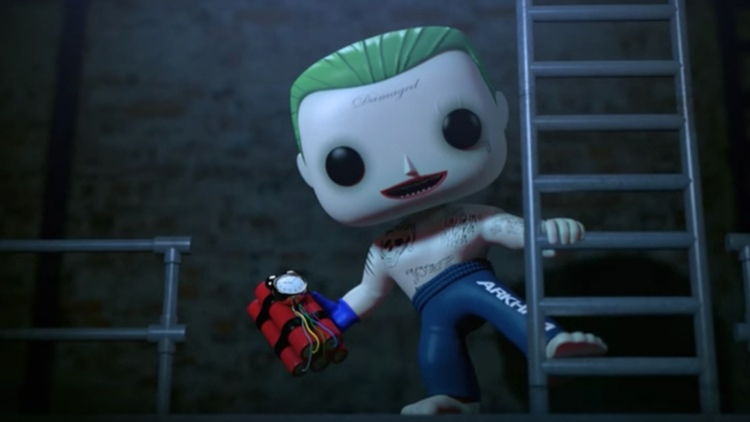 joker funko pop animations suicide squad