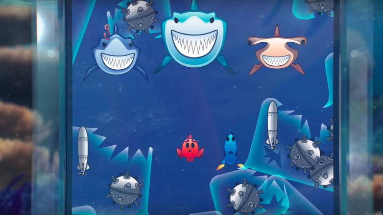 Procurando Nemo emoji version
