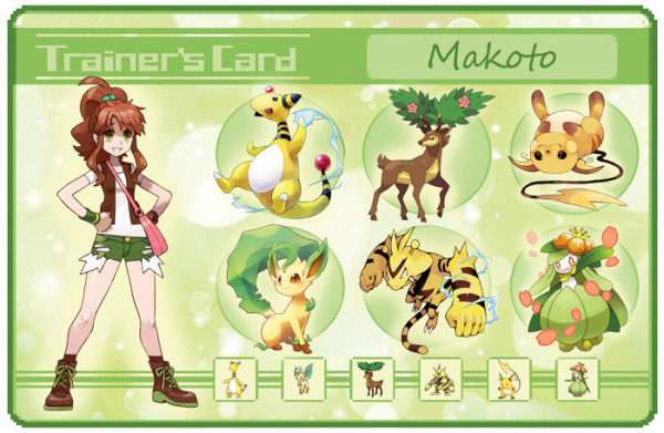 sailor moon pokemon trainer card Makoto