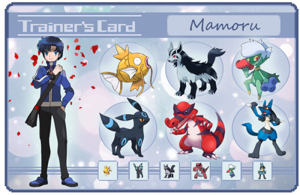 sailor moon pokemon trainer card Mamoru