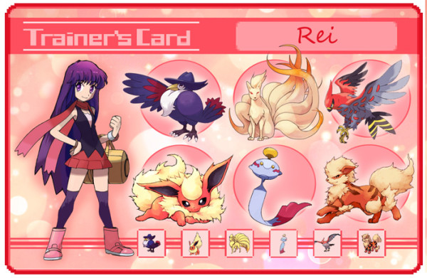 sailor moon pokemon trainer card Rei