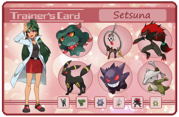 sailor moon pokemon trainer card Setsuna