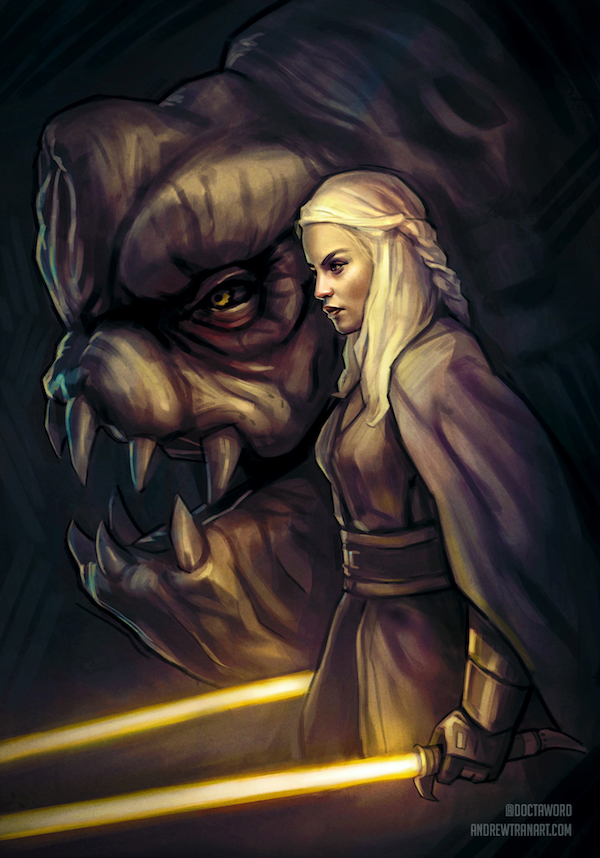 game of thrones star wars daenerys targarien