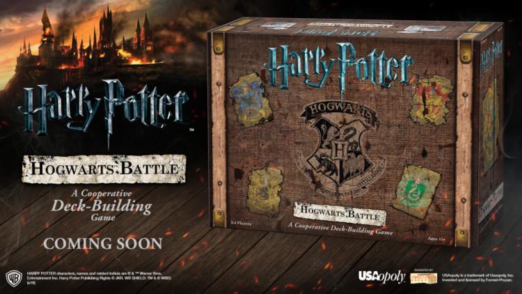 harry potter battle of hogwarts deck building card game