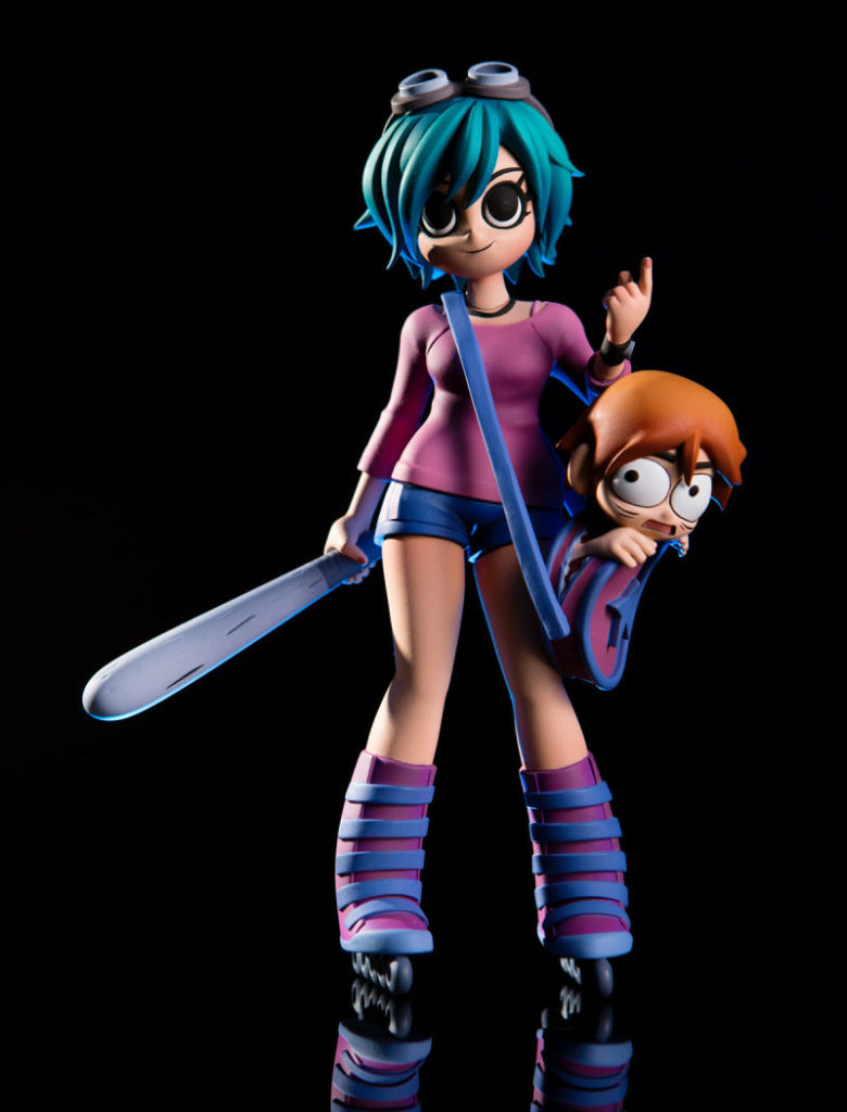 ramona flowers action figure scott pilgrim 3
