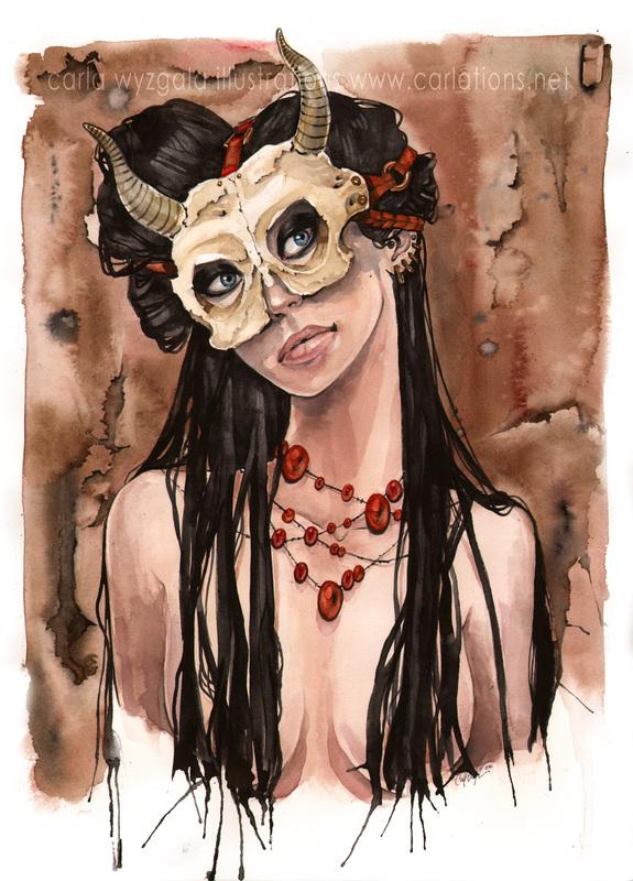 carla wyzgala skull masquerade 10