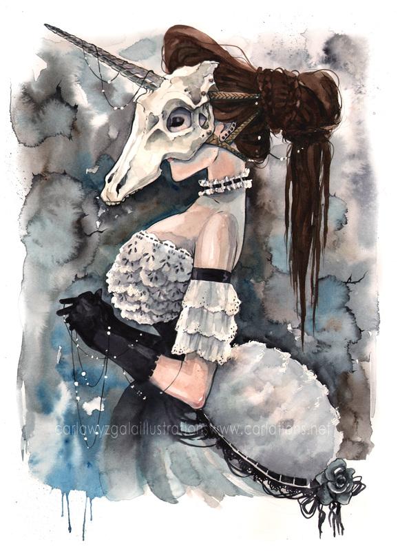 carla wyzgala skull masquerade 12