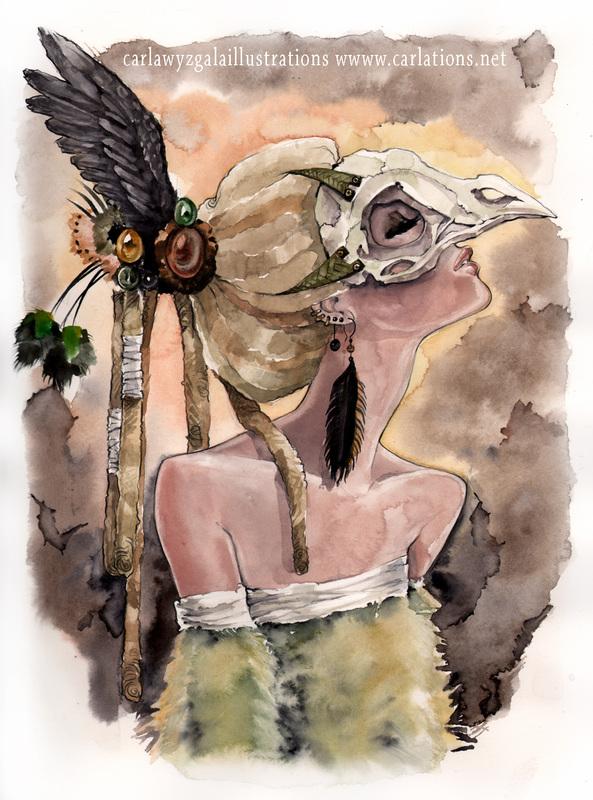 carla wyzgala skull masquerade 13