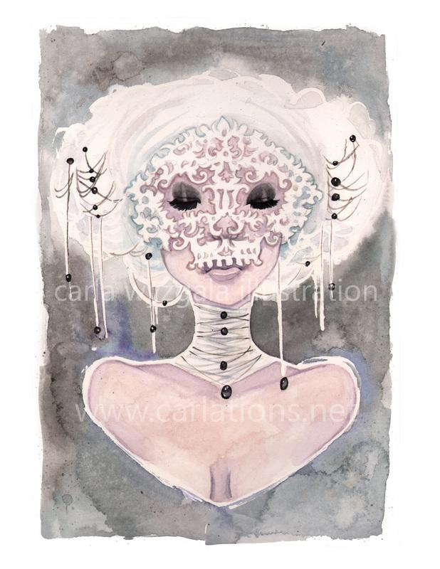 carla wyzgala skull masquerade 16
