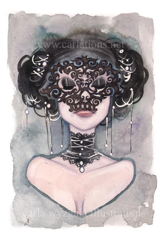 carla wyzgala skull masquerade 17